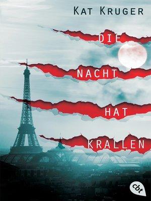 cover image of Die Nacht hat Krallen