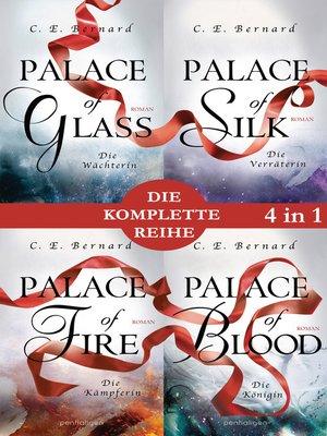 cover image of Die Palace-Saga Band 1-4