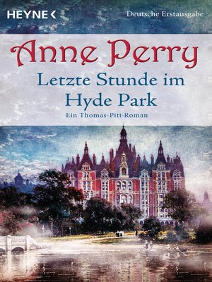 cover image of Letzte Stunde im Hyde Park
