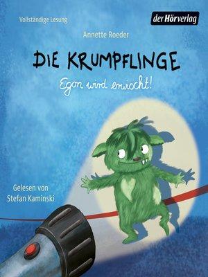 cover image of Die Krumpflinge--Egon wird erwischt!