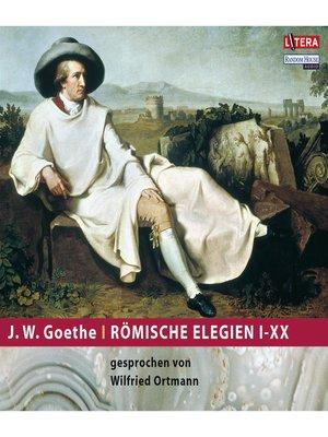 cover image of Römische Elegien I-XX