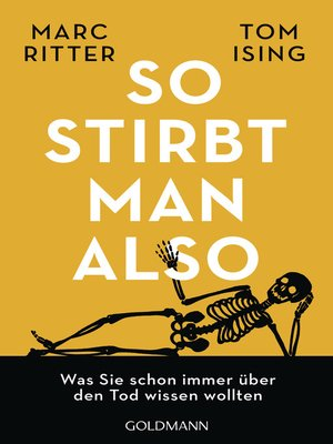 cover image of So stirbt man also