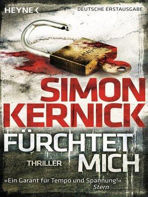 cover image of Fürchtet mich