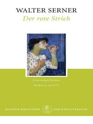 cover image of Der rote Strich