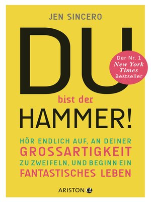 cover image of Du bist der Hammer!