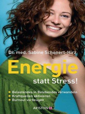 cover image of Energie statt Stress!