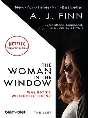 cover image of The Woman in the Window--Was hat sie wirklich gesehen?