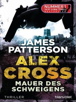 cover image of Mauer des Schweigens--Alex Cross 8 -