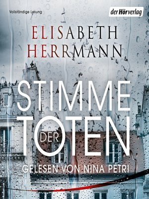 cover image of Stimme der Toten