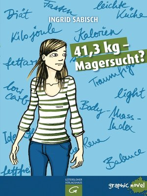 cover image of 41,3 kg--Magersucht?