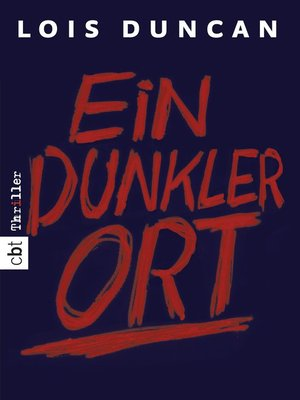 cover image of Ein dunkler Ort