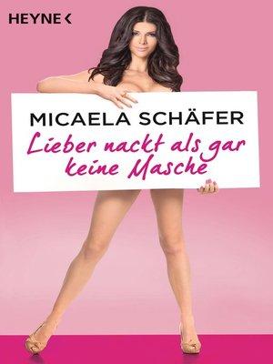 cover image of Lieber nackt als gar keine Masche