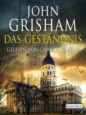 cover image of Das Geständnis