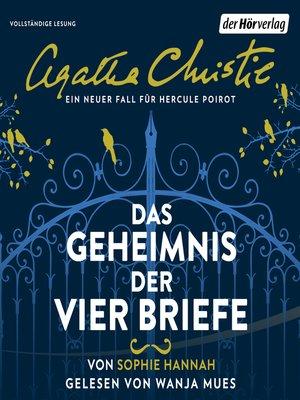 cover image of Das Geheimnis der vier Briefe