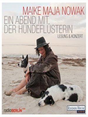 cover image of Ein Abend mit der Hundeflüsterin