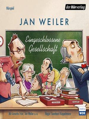 cover image of Eingeschlossene Gesellschaft