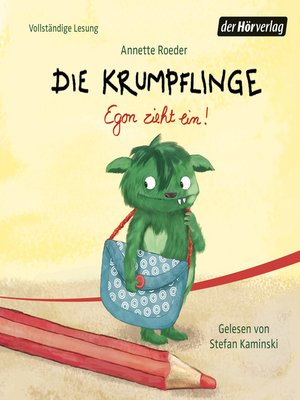 cover image of Die Krumpflinge--Egon zieht ein!