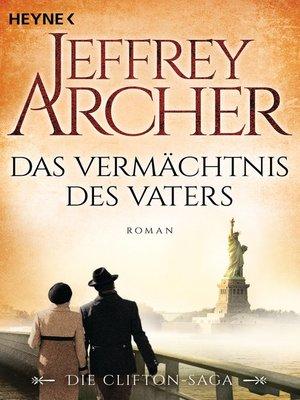 cover image of Das Vermächtnis des Vaters