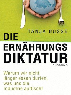 cover image of Die Ernährungsdiktatur