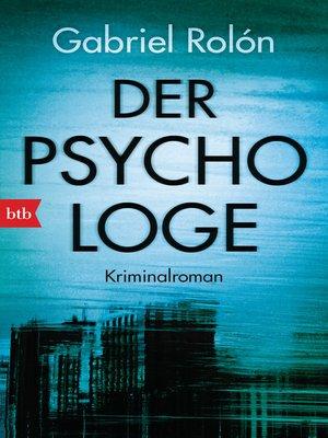 cover image of Der Psychologe