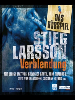 cover image of Verblendung--Das Hörspiel