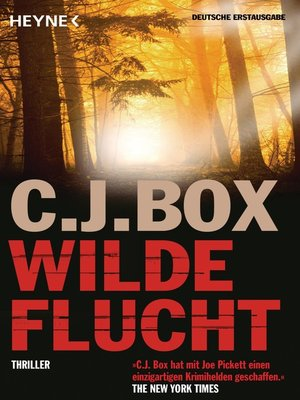 cover image of Wilde Flucht