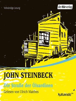 cover image of Die Straße der Ölsardinen