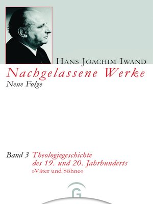 cover image of Theologiegeschichte des 19. und 20. Jahrhunderts