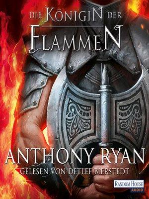 cover image of Die Königin der Flammen