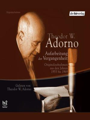 cover image of Aufarbeitung der Vergangenheit