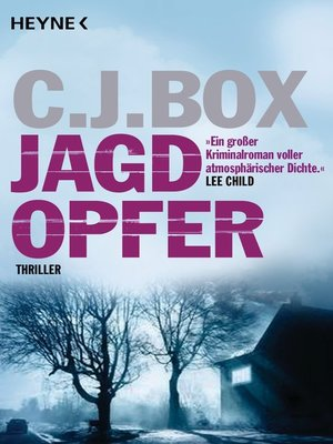 cover image of Jagdopfer