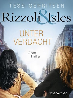 cover image of Rizzoli & Isles--Unter Verdacht