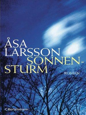 cover image of Sonnensturm