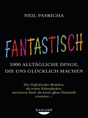 cover image of Fantastisch
