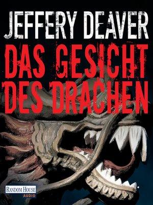 cover image of Das Gesicht des Drachen