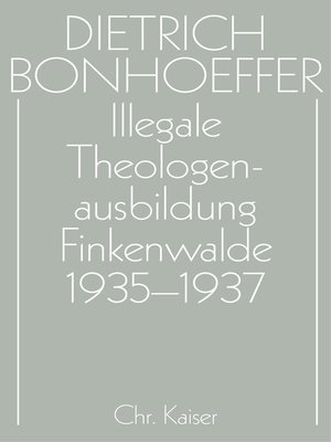 cover image of Illegale Theologenausbildung