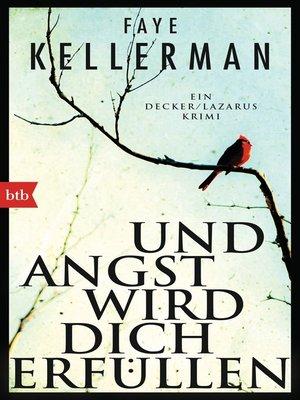 cover image of Und Angst wird dich erfüllen
