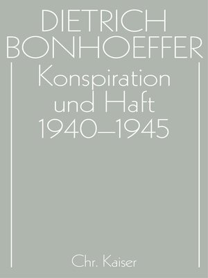 cover image of Konspiration und Haft 1940-1945