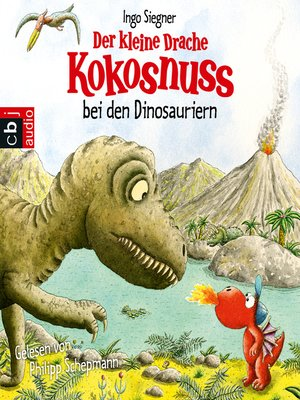 cover image of Der kleine Drache Kokosnuss bei den Dinosauriern
