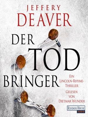 cover image of Der Todbringer