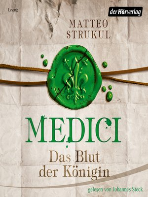 cover image of Medici. Das Blut der Königin