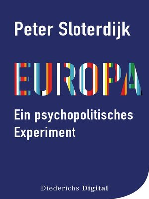 cover image of Europa – ein psychopolitisches Experiment