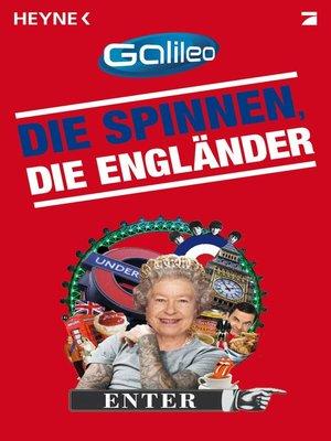 cover image of Die spinnen, die Engländer