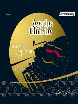 cover image of Die Morde des Herrn ABC