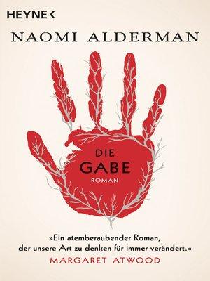 cover image of Die Gabe