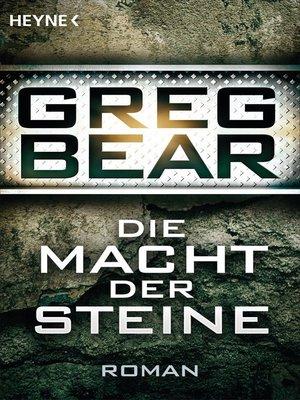 cover image of Die Macht der Steine