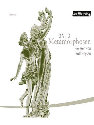 cover image of Metamorphosen
