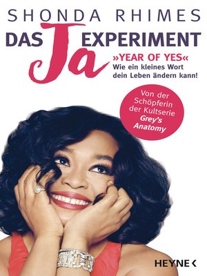 cover image of Das Ja-Experiment – Year of Yes