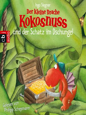 cover image of Der kleine Drache Kokosnuss und der Schatz im Dschungel
