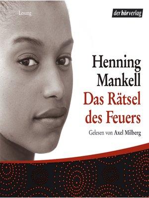 cover image of Das Rätsel des Feuers